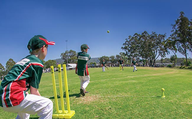 T20 blast teams in action at Erina Oval